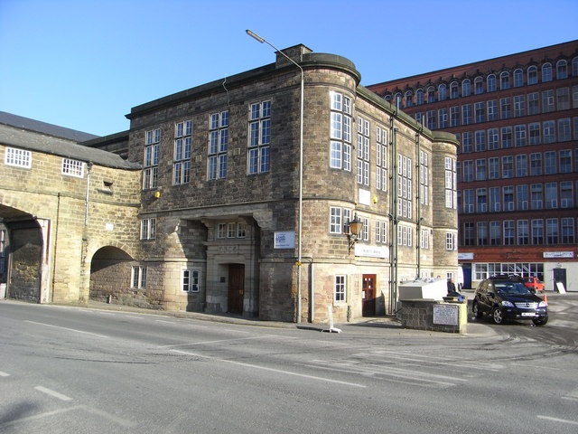 Offices - English Sewing Cotton Co, Belper