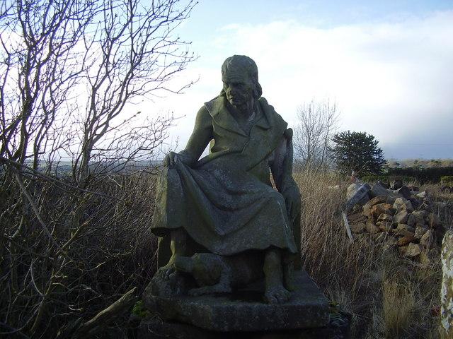Peaston, East Lothian - A Shepherd and his Dog