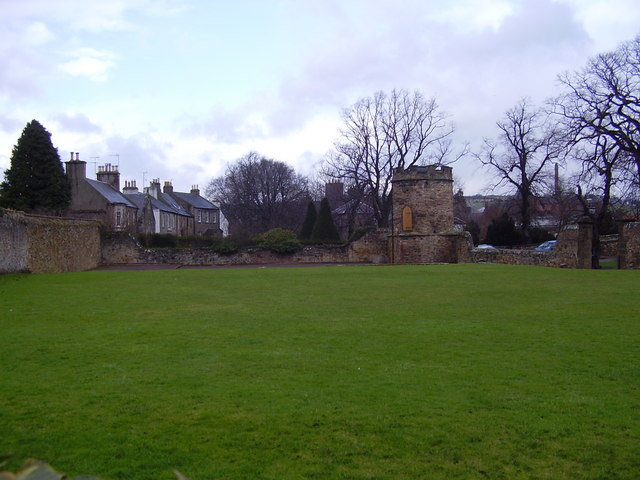 Haddington - Part of Lady Kitty's Garden and Doo'cot
