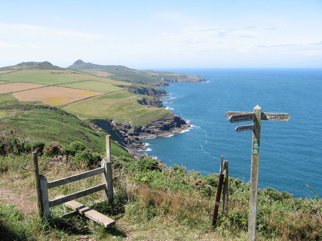 The North side of St David's Head