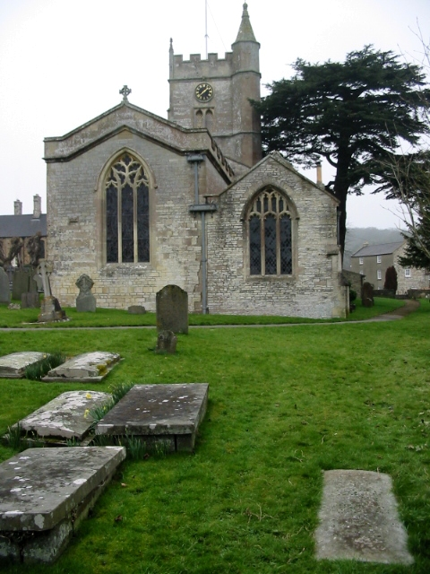 The W end of St Mary's church