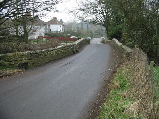 Looking S along Culverhay towards Compton Dando