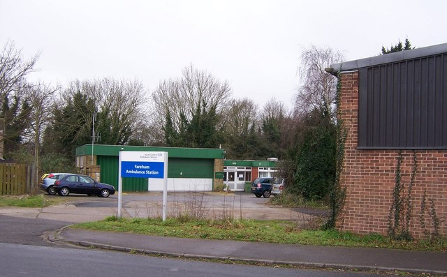 Fareham Ambulance station