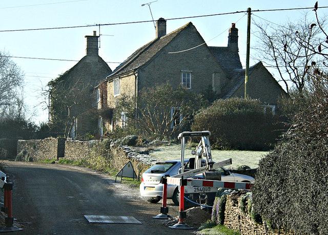 2008 : Maintenance at Lanes End, Gastard