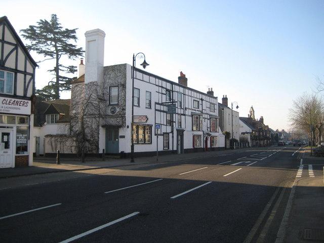 Ripley: The High Street and The Cedar House Gallery