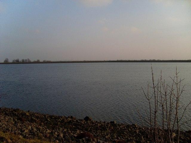 Looking towards Glasgow over Craigmaddie Reservoir