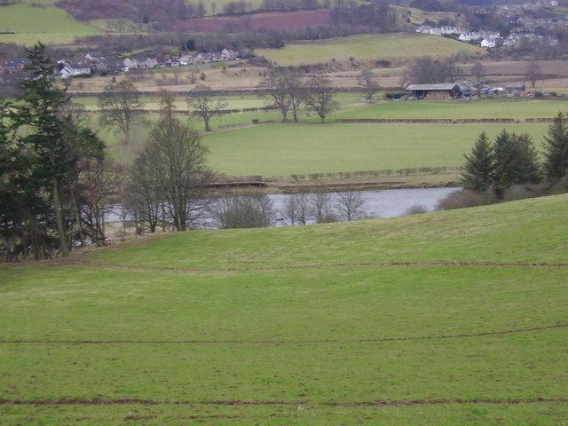 River Tweed near Newstead