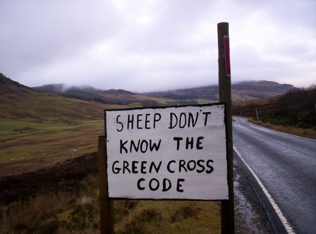 Sign in Glen Brerachan