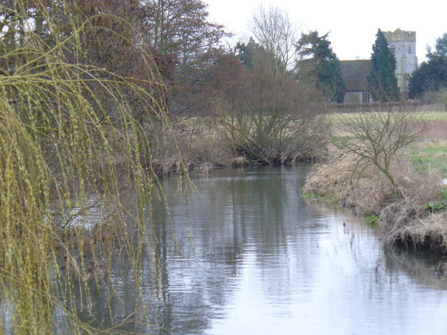 River Wey by Send