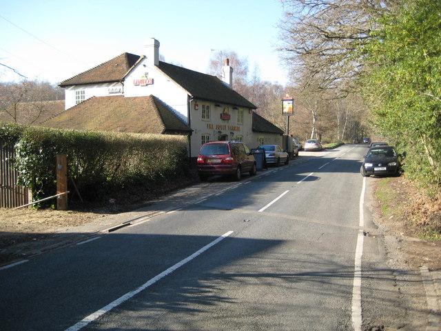 Worplesdon: The Jolly Farmer public house