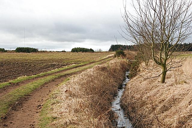 Field Drain near Fallaws