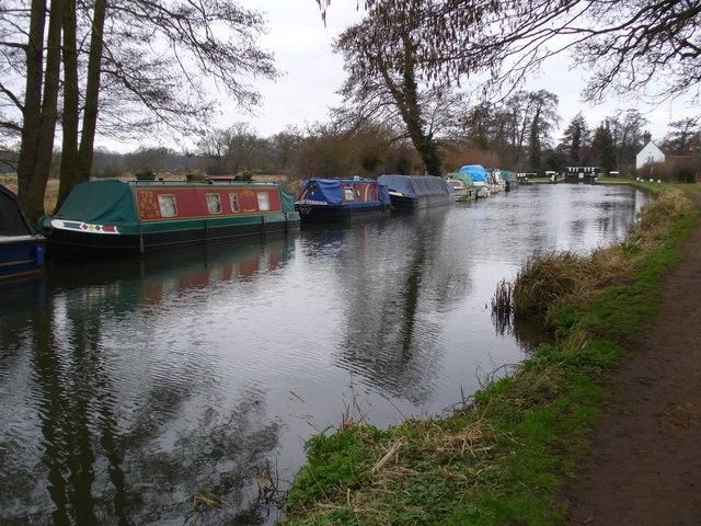 River Wey Navigation by Send