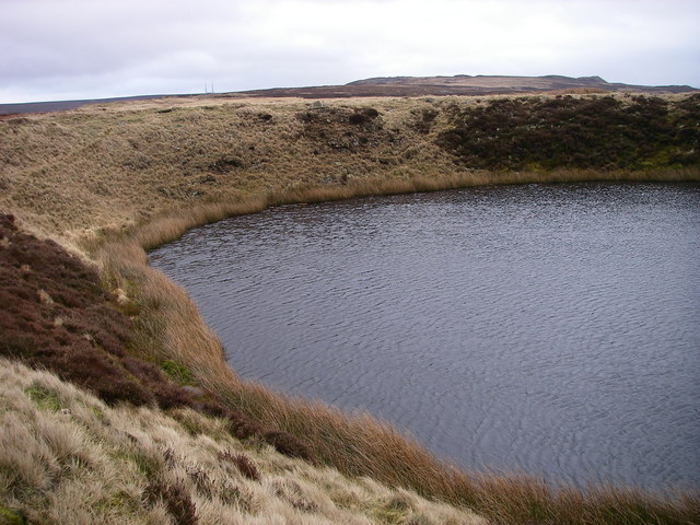Pool atop Llanelly Hill