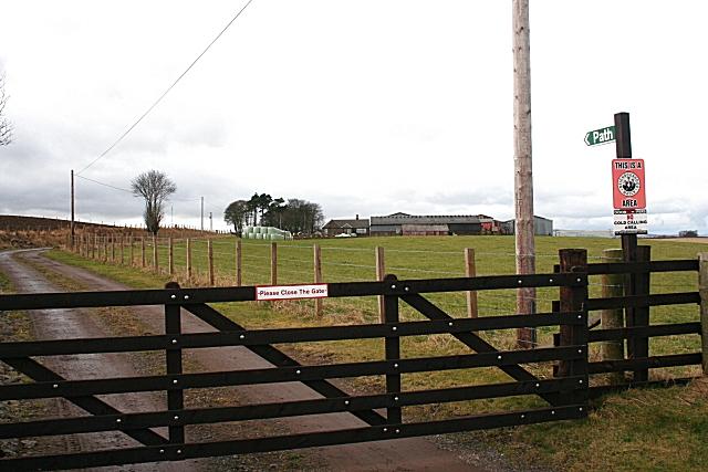 Gateway to Chamberlain Knowe