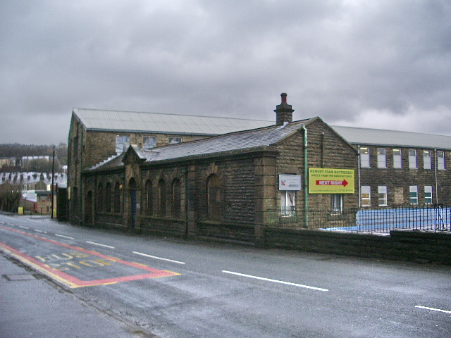 New Hey Mill, Newchurch Road, Bacup