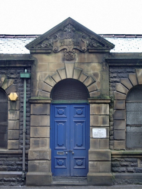 New Hey Mill, Newchurch Road, Bacup, Doorway