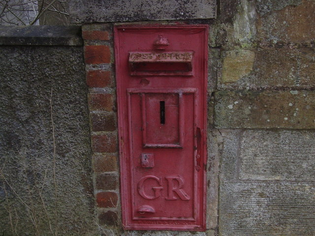 King George post box