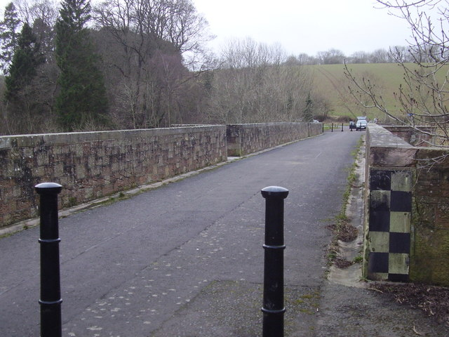 Old Leaderfoot Bridge