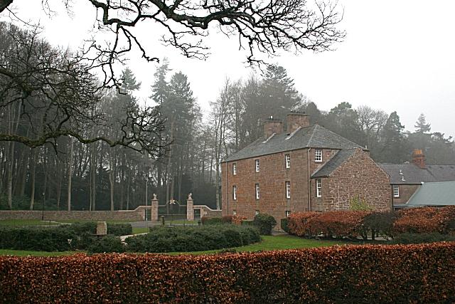 House Outside Glamis Castle Gates