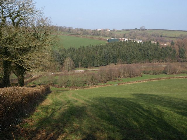 Langtree Lake valley & Clements Hill