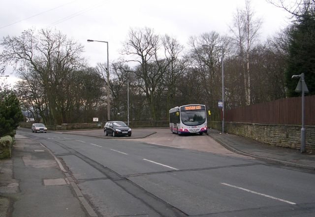Bus Turning Circle - Bierley Lane