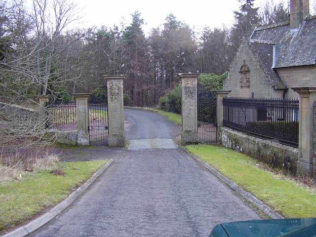 South entrance to Grange Hall