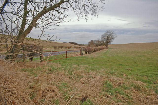 North-west of Little Weighton