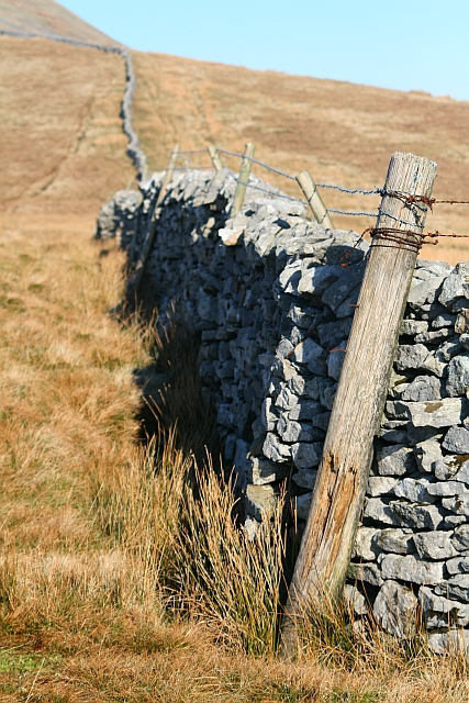 Dry Stone Wall on Brunt Riggs
