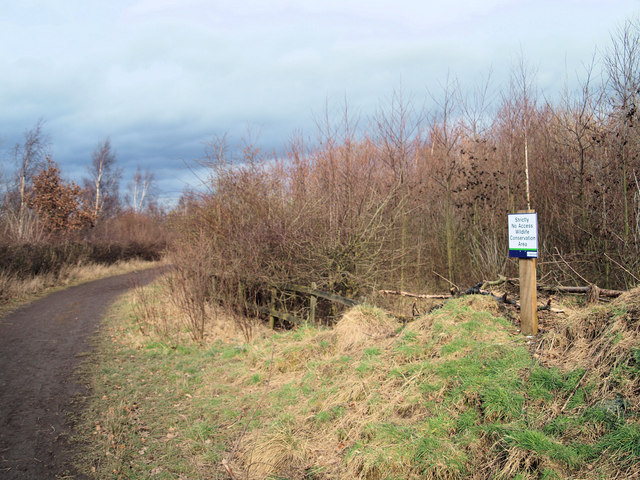 No entry conservation area