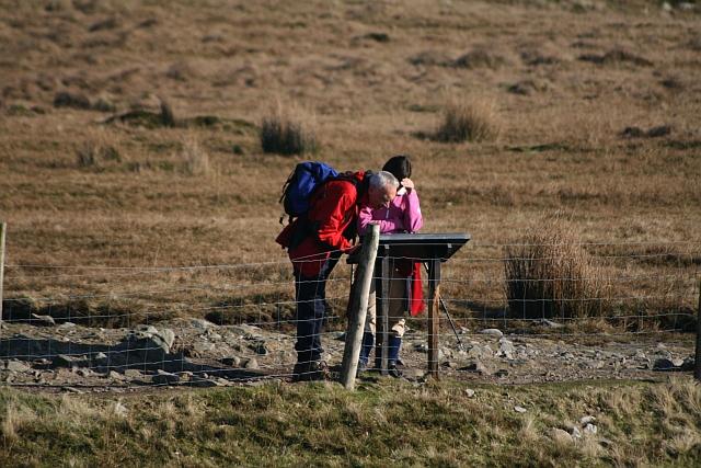 Walkers at Gaping Gill