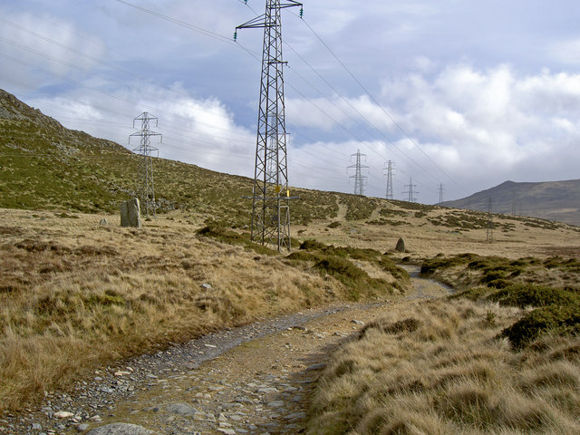 Standing stones and pylons