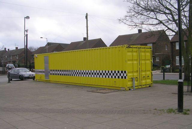 Mobile Police Unit - Broadstone Way
