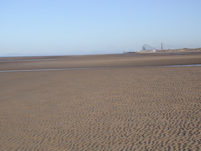St Annes Beach, Low Water
