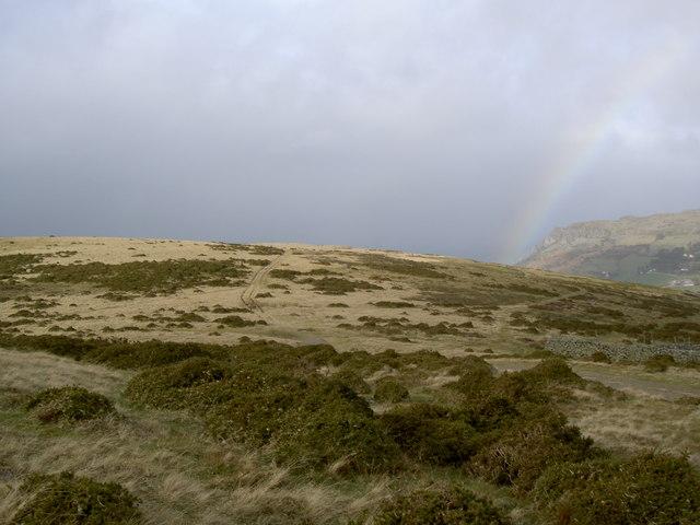 The path towards Llanfairfechan