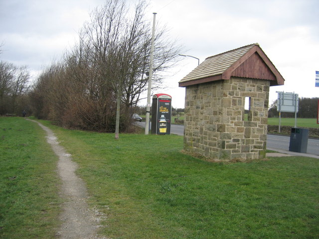 The Birches bus shelter