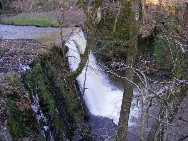 Waterfall on Naden Brook