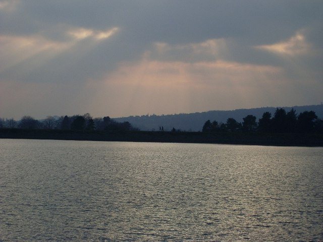 View to the path across Mugdock Reservoir