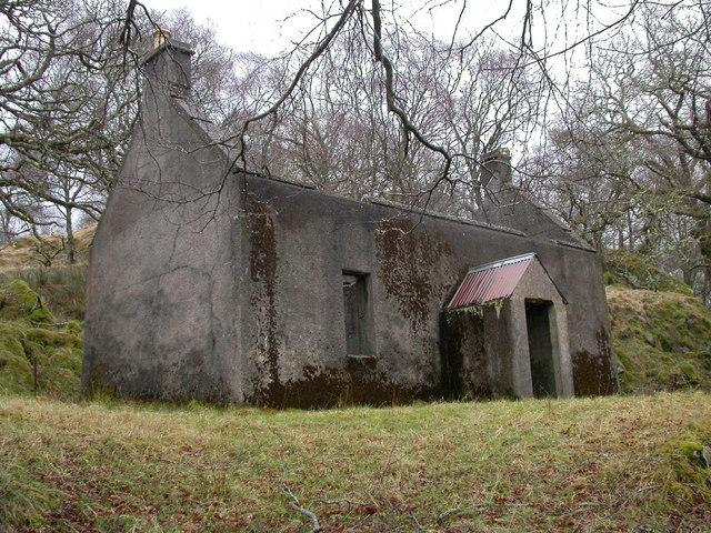 Ruin near Dunan, Laudale Estate