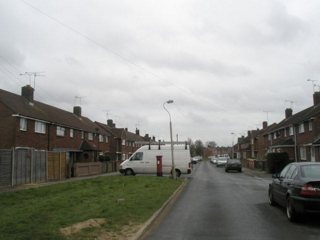 Postbox in Grately Crescent