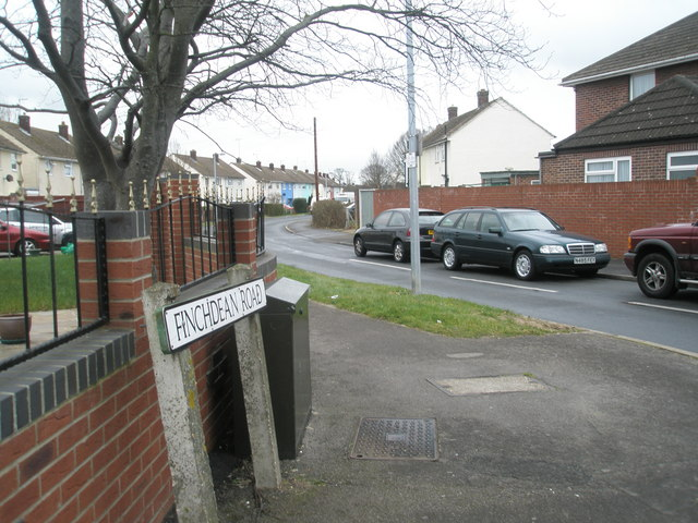 Junction of Finchdean Road and Middle Park Way.