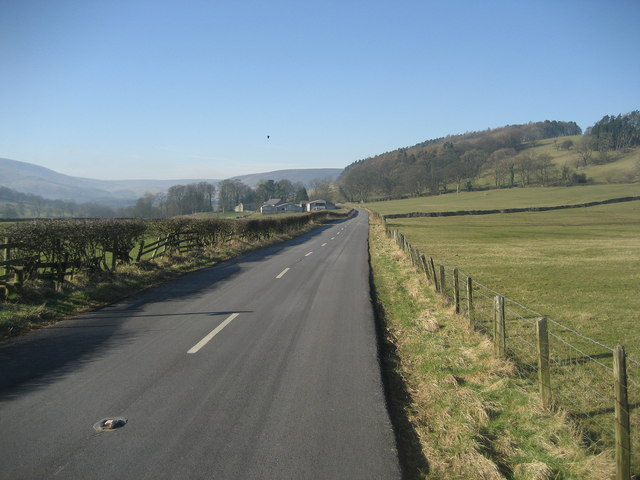 Road heading towards Boarsden