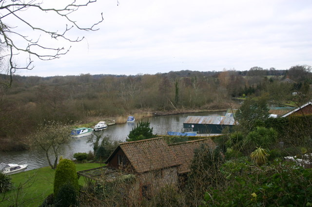 River Bure from Belaugh Church
