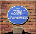 Photo of Nelson Victor Carter blue plaque