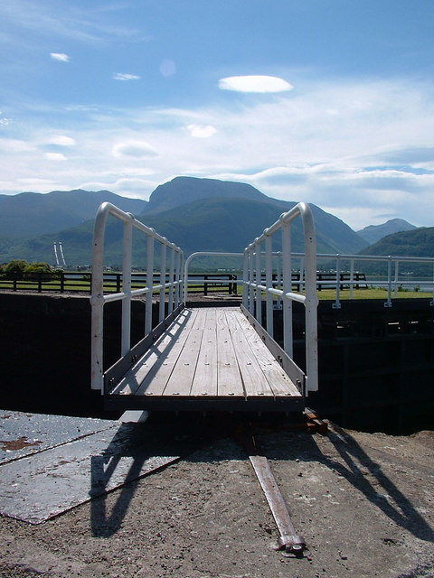 Ben Nevis from Corpach sea lock