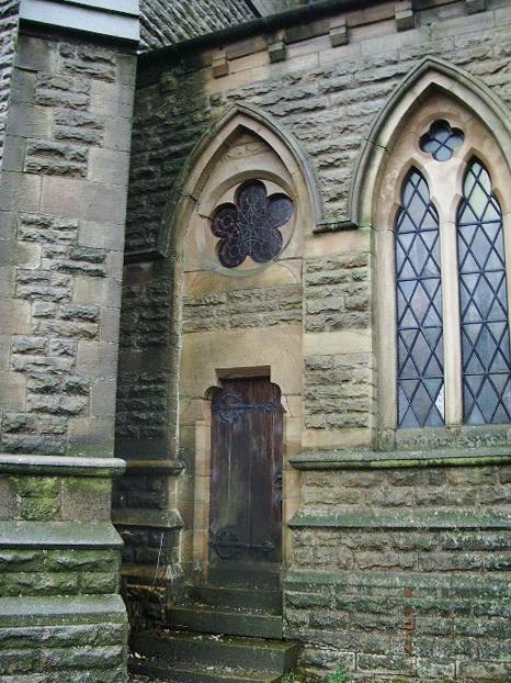 St Saviour's Church, Bacup, Doorway