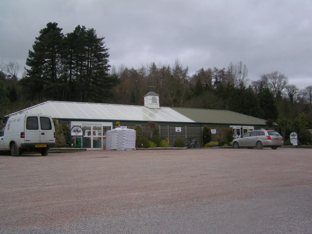 Huntley garden centre