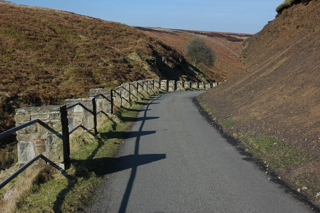 Road in the Goyt Valley