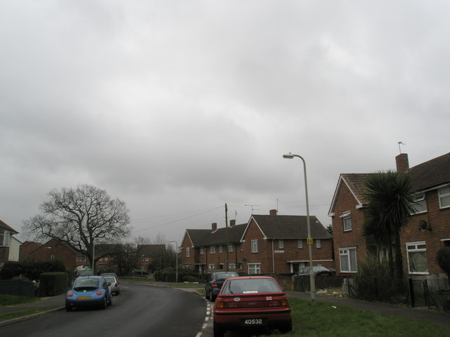 Junction of Ditcham Crescent and Adsdean Close