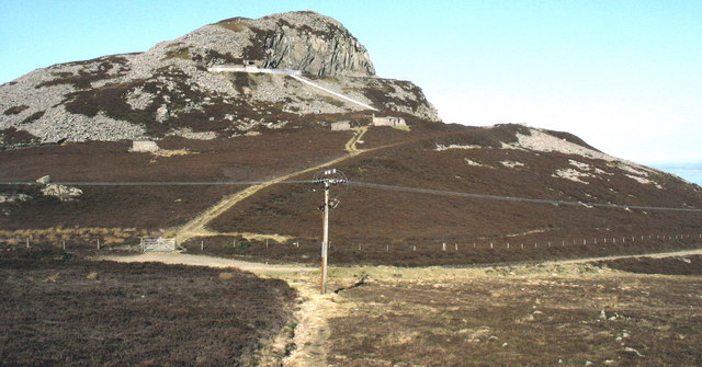 Access track from Bwlch yr Eifl to the Llithfaen North Telecommunications Station