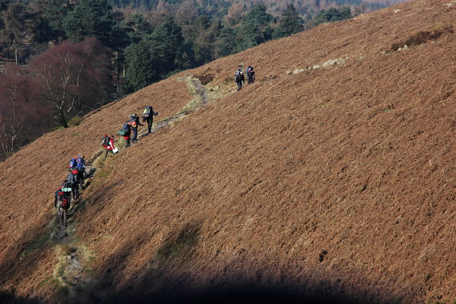 Walkers in the Goyt Valley
